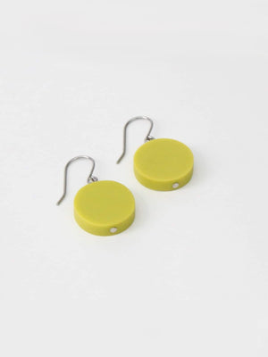 Sylca Designs Sophie Earrings, Lime - Statement Boutique