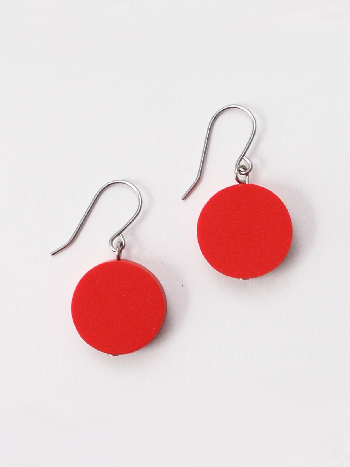 Sylca Designs Sophie Earrings, Red - Statement Boutique
