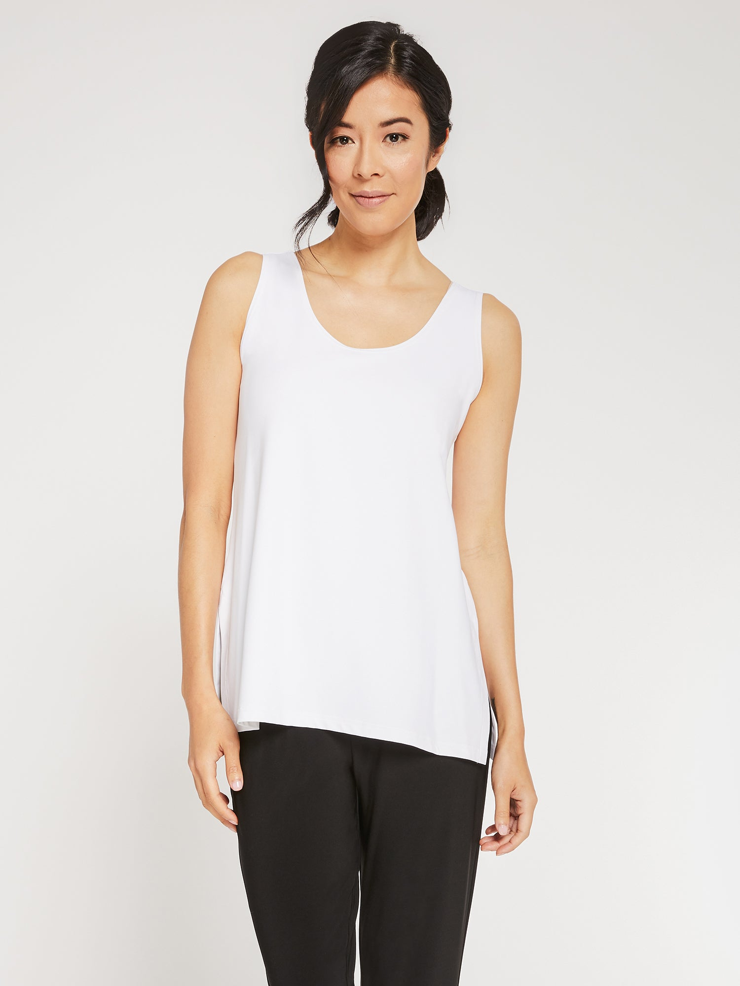 Sympli Go To Tank Relax - White - Statement Boutique