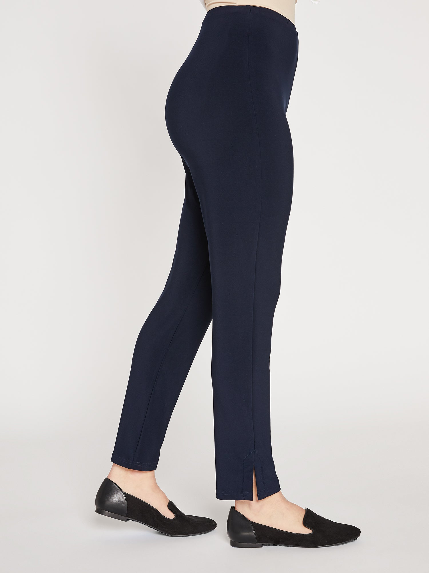 Sympli Narrow Pant Midi - Navy - Statement Boutique