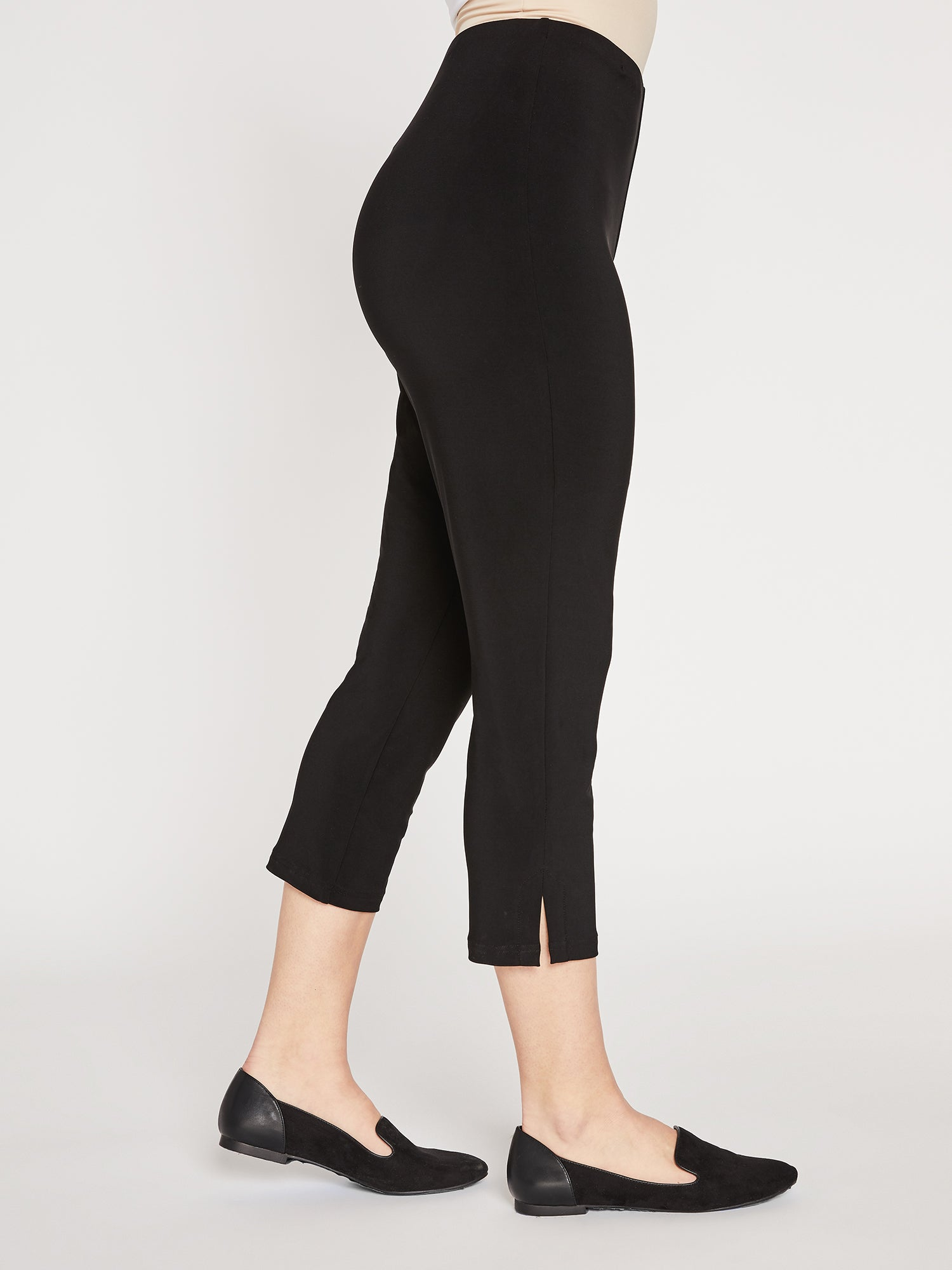 Sympli Narrow Pant Short - Black - Statement Boutique