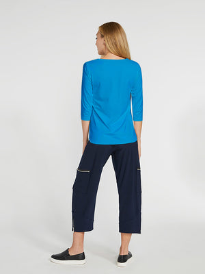 Sympli Go To Classic T Relax, 3/4 Sleeve, Splash