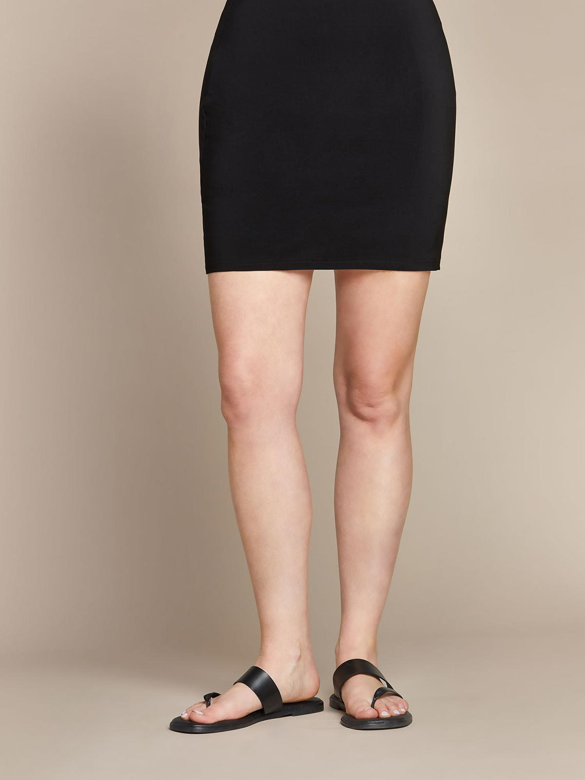 Sympli Mini Skirt - Black - Statement Boutique