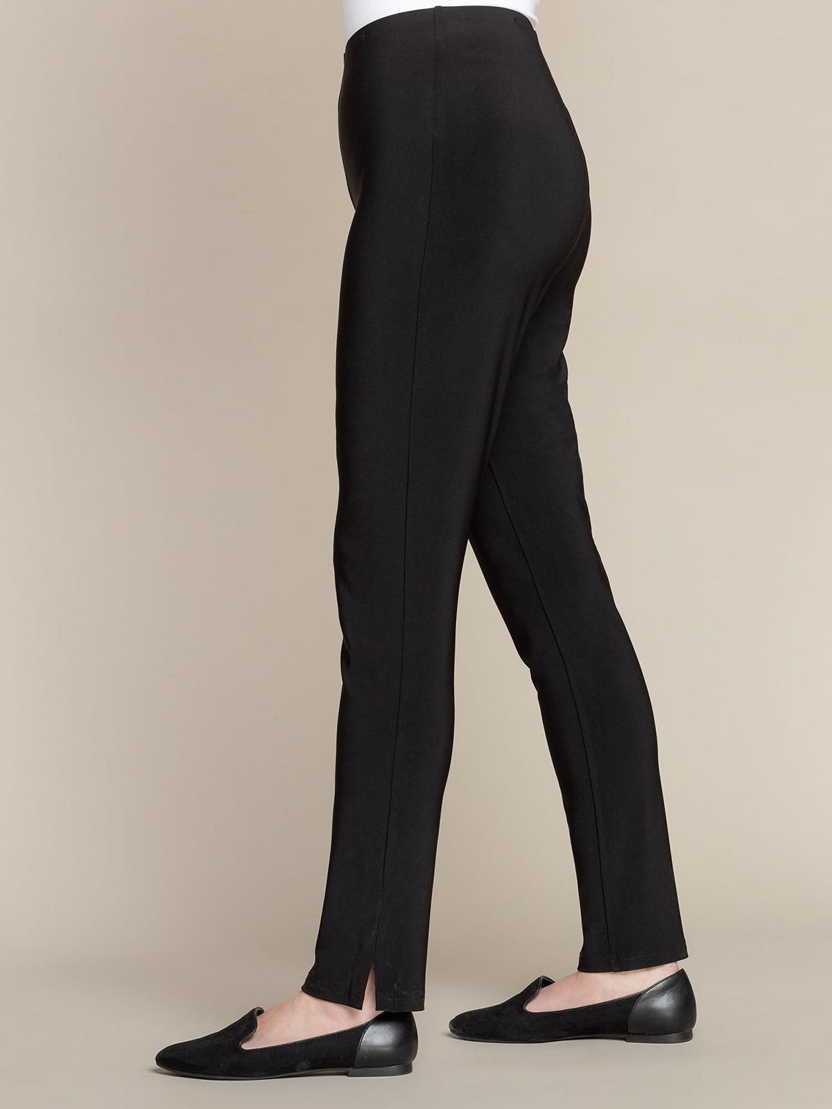 Sympli Narrow Pant Long - Black - Statement Boutique