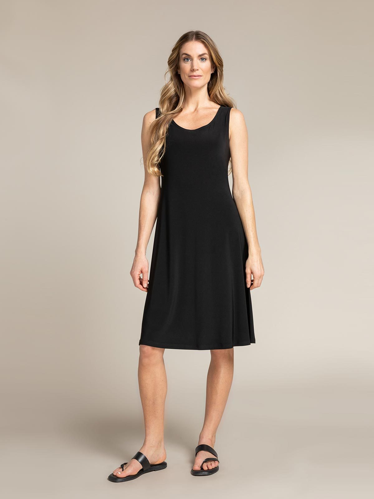 Sympli - Tank Dress Short - Black