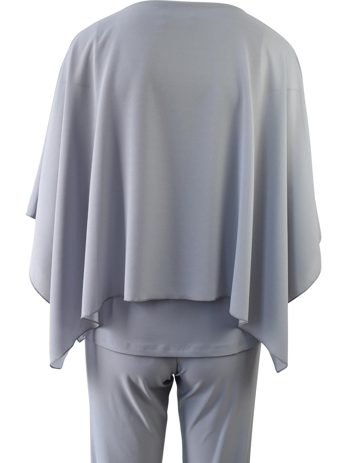 Sympli Whisper Boxy Top, Silver