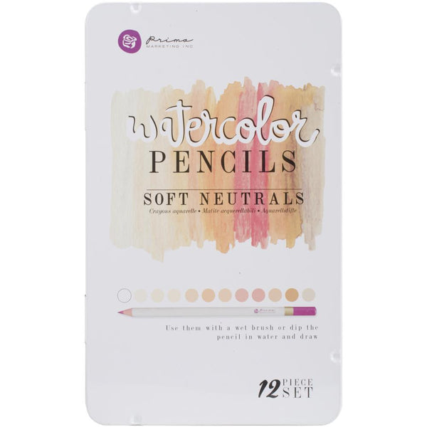 Prima Marketing Watercolor Pencils Soft Neutrals