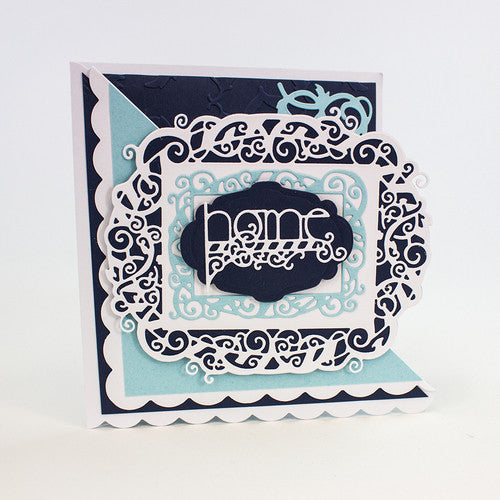 Tonic Studios INDULGENCE DIE & STAMP SET – HOME TOGETHER – 1036E
