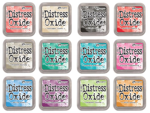 Oxide Inks set of 12 Release #2