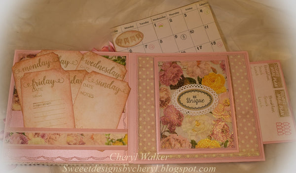 "Justrite Planner Basics Clear Stamps -4"" x 6"""