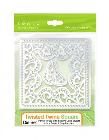Tonic 584e Intrica Twisted Twine Square Die