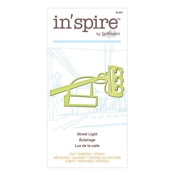 Spellbinders Shapeabilities In'spire Embellishments, Street Light - IN-007