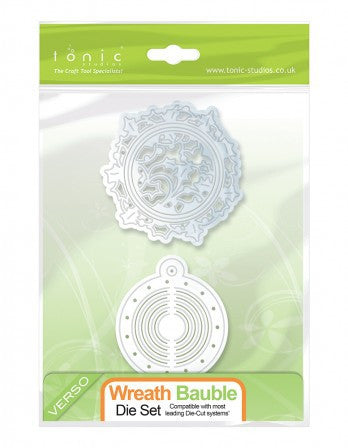 Tonic 644e Wreath Bauble Die