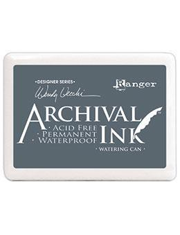 Archival Inks Watering Can, Jet Black and Coffee ***USED CLASS SET***