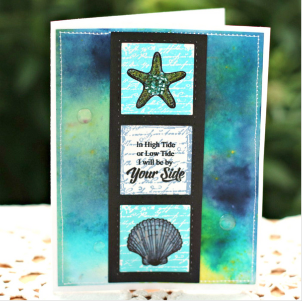 Justrite At the Beach Clear Stamps