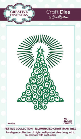 Sue Wilson Festive Collection Illuminated Christmas Tree