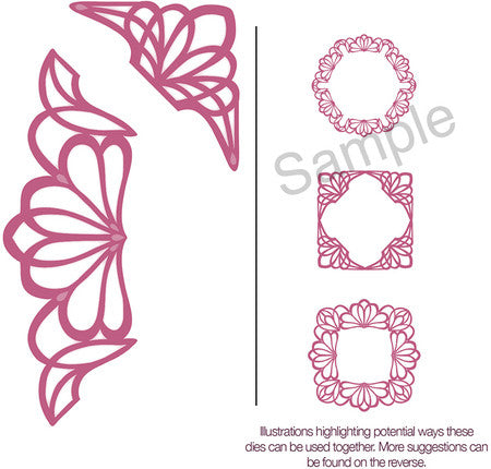 Sue Wilson Configurations Dainty Lace Edger Die
