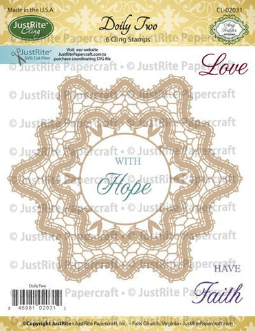 Doily Two Cling Stamps