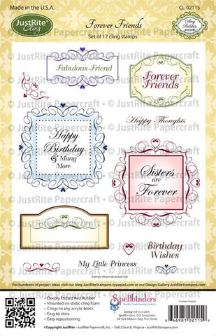 Forever Friends Cling Stamps
