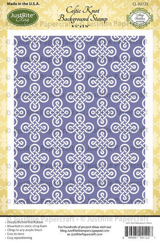 Celtic Knot Background Stamp