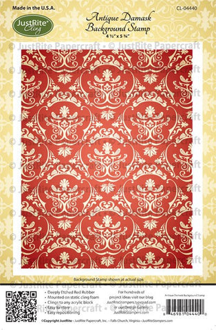 Antique Damask Background