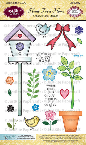 Home Tweet Home Clear Stamps
