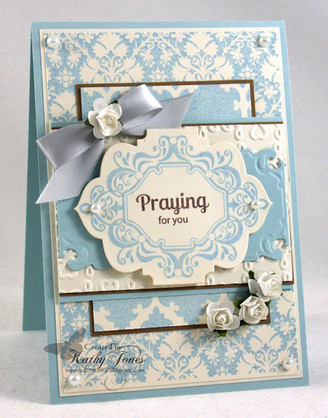Grace to You Vintage Labels Eight and Nine Clear Stamps