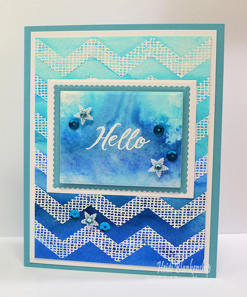 Grand Handwritten Sentiments Clear Stamps