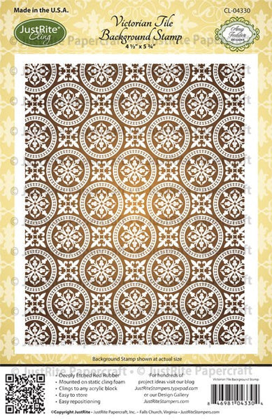 Victorian Tile Background Stamp