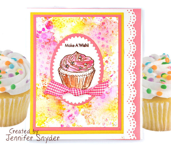 JustRite Make A Wish Clear Stamps CR-05083