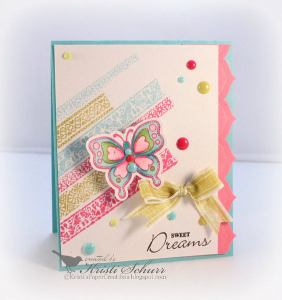Ribbons, Tape and Lace Clear Stamps