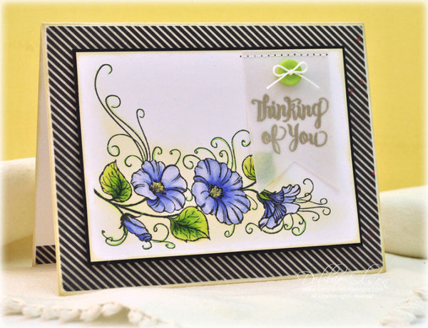 Justrite Papercraft Morning Splendor Clear Stamps