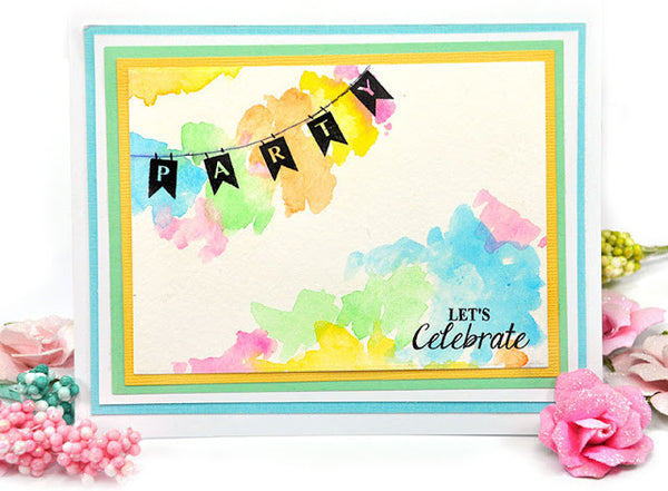 Justrite Planner Banner Alphabet Clear Stamps