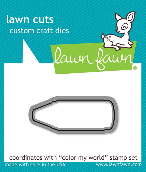 Lawn Fawn Color My World Dies set LF903