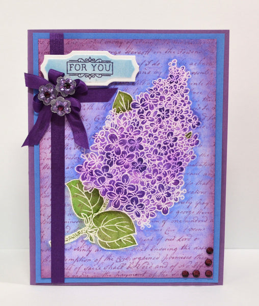 Lilac Blossoms Clear Stamps