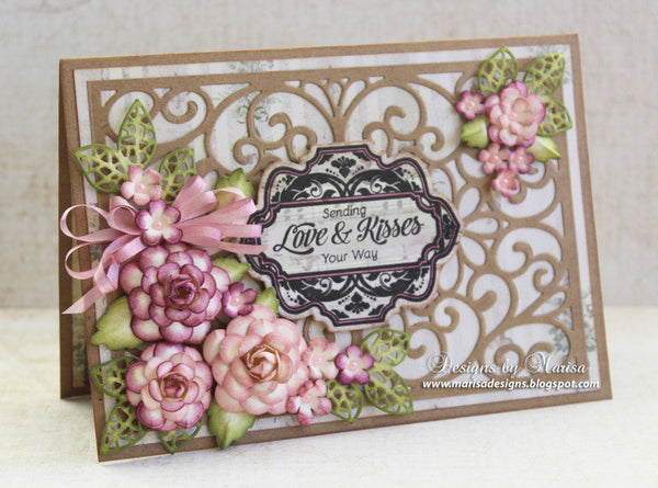Spring Wishes Vintage Labels Eight Clear Stamps