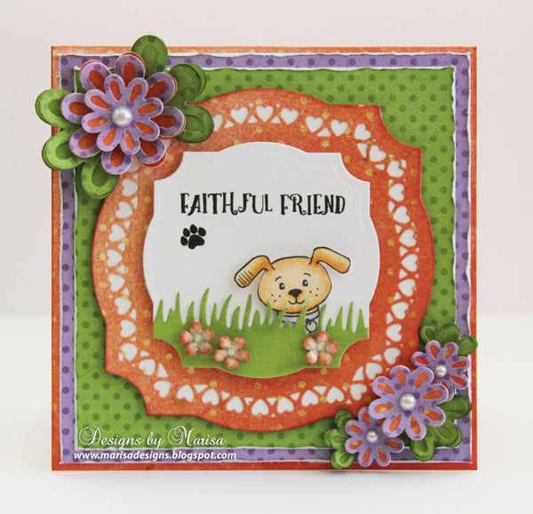 Pet Sympathy Sentiments Clear Stamps