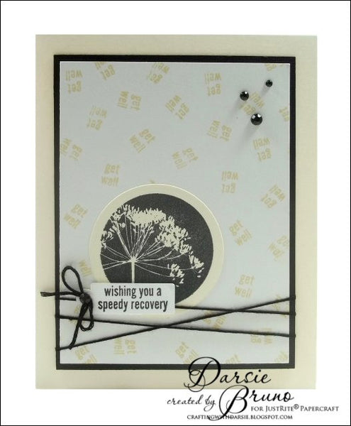 Justrite Meadow Circles Clear Stamps
