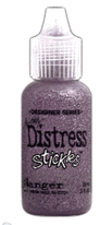 Tim Holtz Distressing Stickles Glitter Glue Aged Mahogany