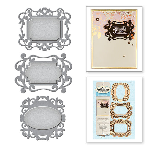 Spellbinders Die Treasured Tags s4-754