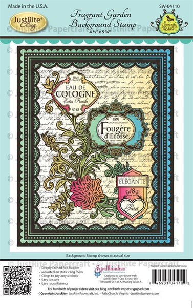 Fragrant Garden Background Stamps