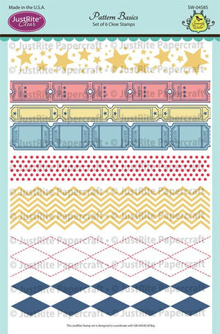 Pattern Basics Clear Stamps