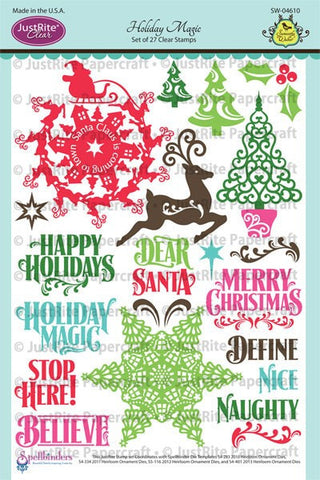 Holiday Magic Clear Stamps