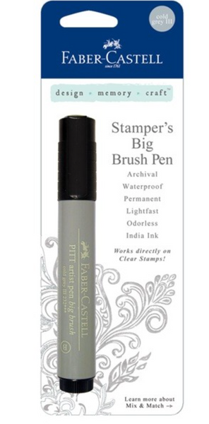 Faber Castel Stamper's Big Brush Pen Cold Grey