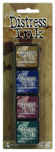 Tim Holtz Distress Ink Pad Mini Kit #12
