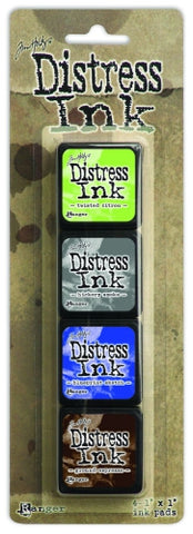 Tim Holtz Distress Ink Pad Mini Kit #14