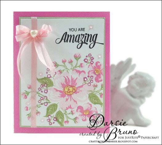 Romantic Wild Roses Clear Stamps