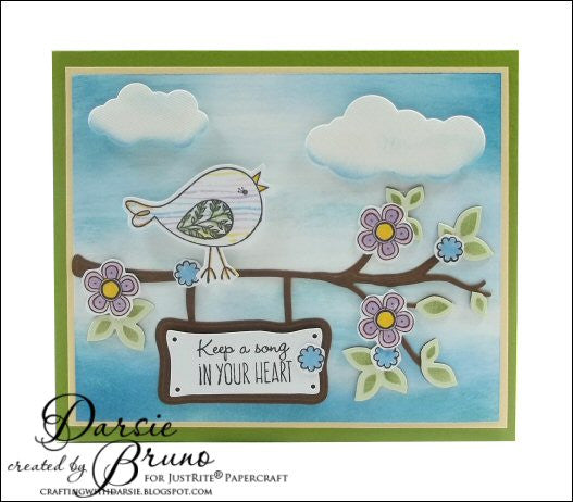 Sing Out Loud Clear Stamps