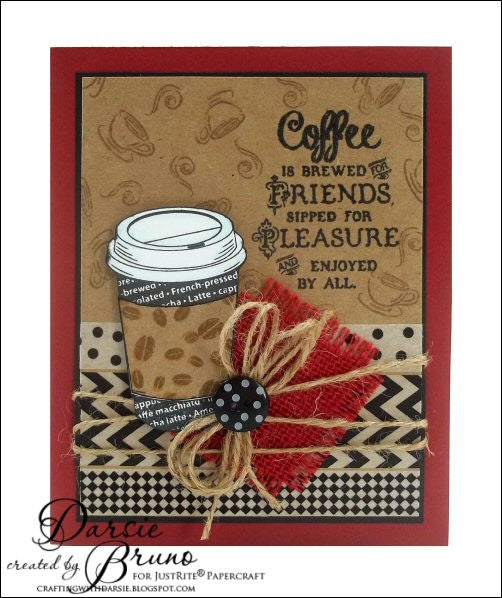 Coffee House Clear Stamps