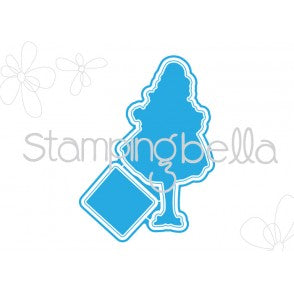 Stamping Bella CUT IT OUT Die Only FLOWERS BEHIND MY BACK